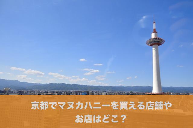 京都マヌカハニー店舗お店